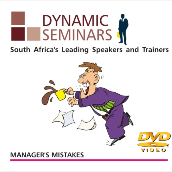 Managers Mistakes - Dynamic Seminars