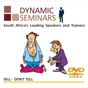 Sell, dont tell - Dynamic Seminars